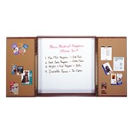 Double-Door Conference Cabinet w/ Markerboard
