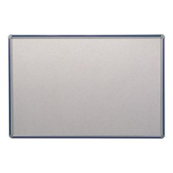 Deco Vinyl Tackboard w/ Colorful Frame - Shown w/ blue frame