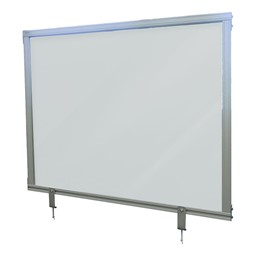 Attachable Desktop Protection Screen - Frosted