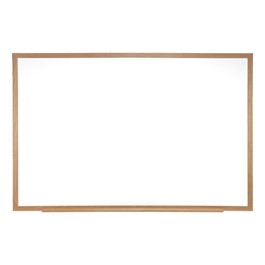 Centurion Magnetic Markerboard w/ Wood Frame (4\' W x 4\' H)