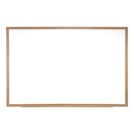 Verona Melamine Markerboard w/ Wooden Frame (6\' W x 4\' H)