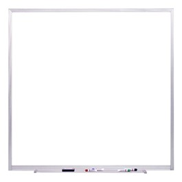 Spectra Magnetic Markerboard w/ Aluminum Frame & SmartPak Accessory Tray