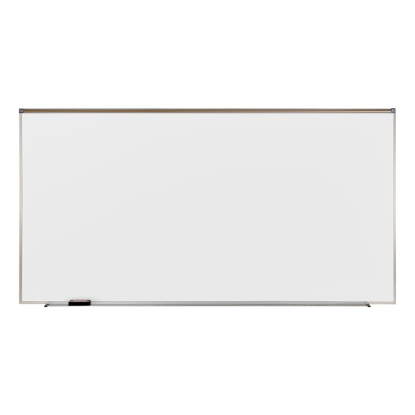 Proma Magnetic Projection Magnetic Markerboard w/ Aluminum Frame (6' W x 4' H)