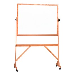Double-Sided Markerboard w/ Wood Frame