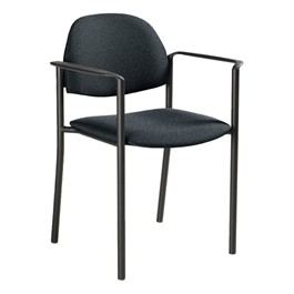 Comet Stack Chair w/ Arm Rests - Imagerie-Gray