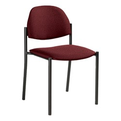 Comet Stack Chair w/ out Arm Rests - Imagerie-Burgundy