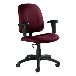 Goal Low-Back Task Chair w/ Arm Rests - Pebbles-Rhapsody