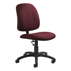 Goal Low-Back Task Chair w/out Arm Rests - Pebbles-Rhapsody