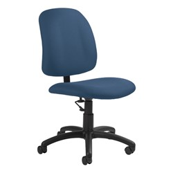 Goal Low-Back Task Chair w/out Arm Rests - Pebbles-Ocean