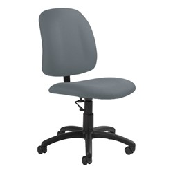 Goal Low-Back Task Chair w/out Arm Rests - Pebbles-Stone