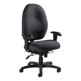 global industries stamina high back heavy duty posture task chair at