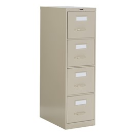 Global Vertical File Cabinet w/ Four Drawers - Letter Size