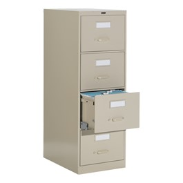 Global Vertical File Cabinet w/ Four Drawers - Legal Size