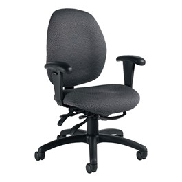 Malaga Chair - Low Back - Sprinkle-Graphite