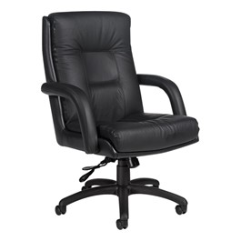 Arturo Executive Chair - Mid Back - Black