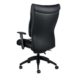 Softcurve Executive Office Chair - High Back w/ Adjustable Arms - Back view