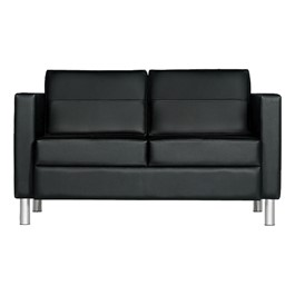 Citi Lounge Loveseat - Black