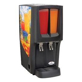 Crathco G-Cool Cold Mini-Bowl Beverage Dispenser - Shown w/ two bowls