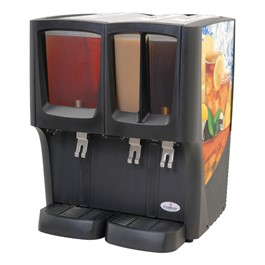 Crathco G-Cool Cold Beverage Dispenser - Triple Bowl
