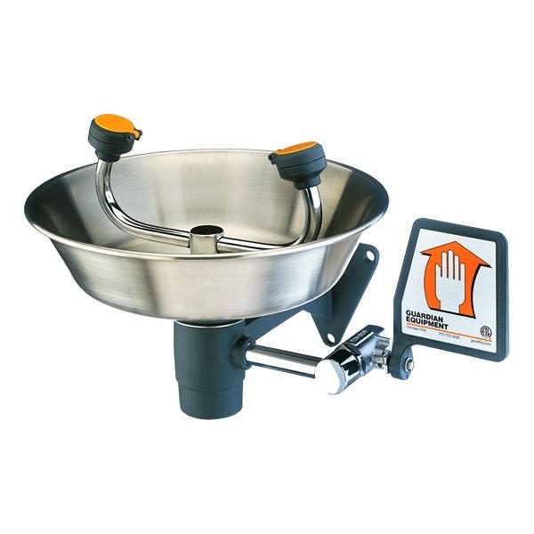 Wall-Mounted Eye Wash Bowl - Stainless Steel Bowl