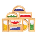 Rainbow Blocks - Crystal Bead