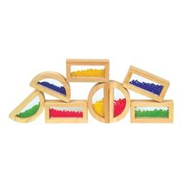 Rainbow Blocks - Crystal Bead
