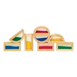 Rainbow Blocks - Sand