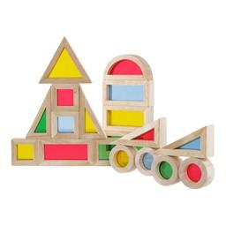Jr. Rainbow Blocks - 20 Pieces