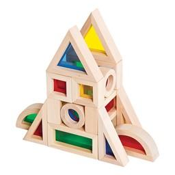 Jr. Rainbow Blocks - 40 Pieces