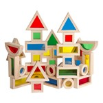 Jr. Rainbow Blocks - 40 Pieces