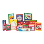 Wooden Shopping Play - Grocery Products