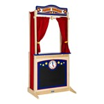 Wooden Puppet Theater