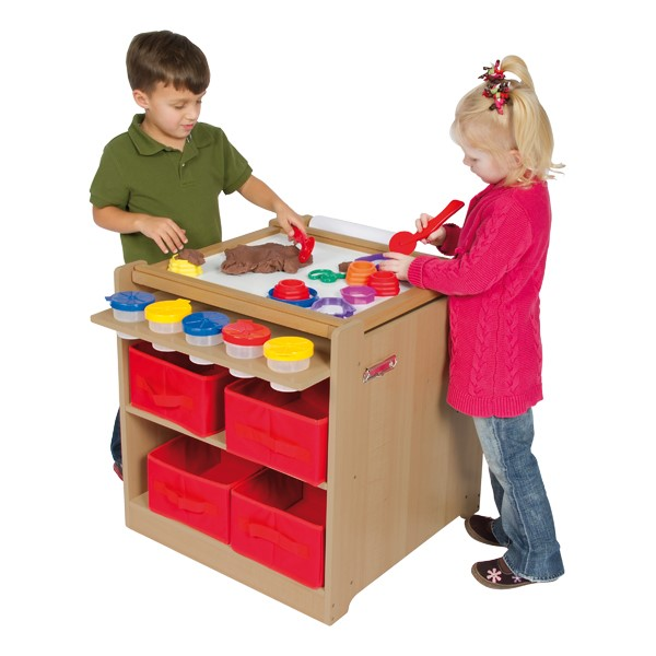 Desk-to-Easel Art Cart - Accessories not included