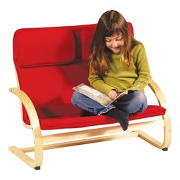 "Kiddie Rocker Couch - 10"" Seat Height - Red"