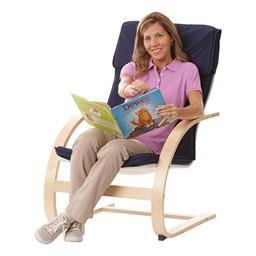 "Teacher's Arm Chair - 16 1/2"" Seat Height - Blue"