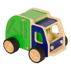 Plywood Truck - Garbage Truck