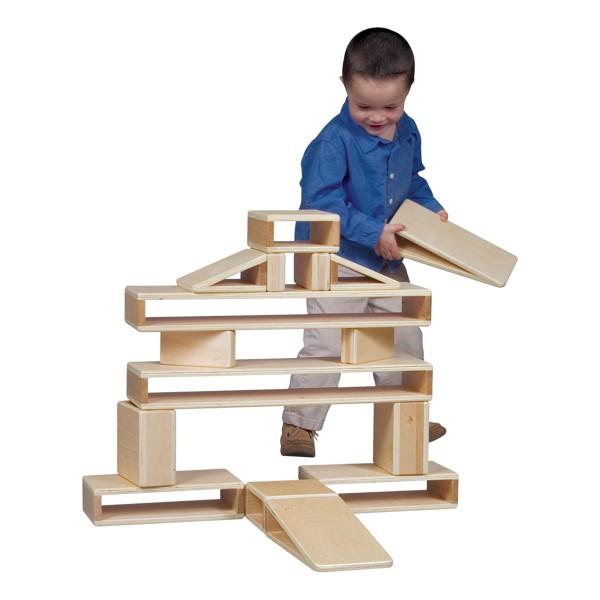 Hollow Blocks - Mini - 16 Pieces