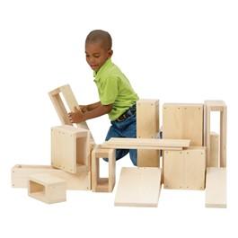 Hollow Blocks - Jr. - 16 Pieces