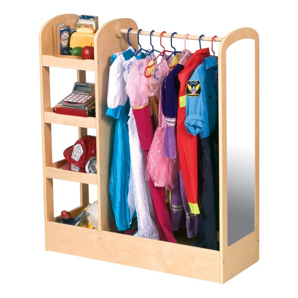 See & Store Dress Up Center - Natural - Accessories not included