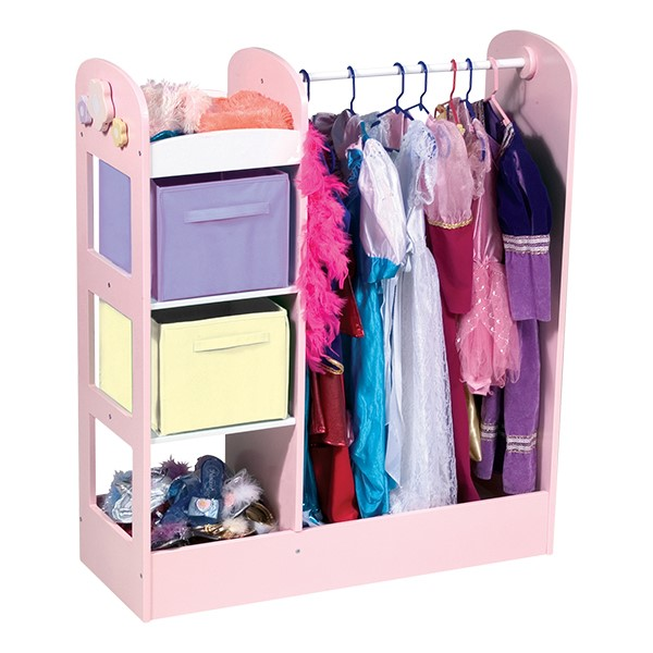 See & Store Dress Up Center - Pastel - Accessories not included