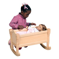 Doll Cradle - Natural - Doll not included