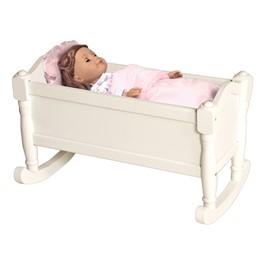 Doll Cradle - White