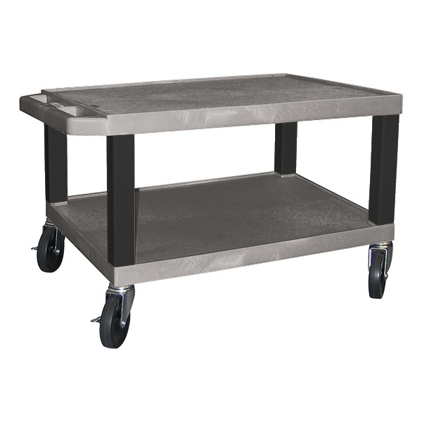 """Colorful Tuffy Utility Cart (15 1/2"""" H) - Gray"""