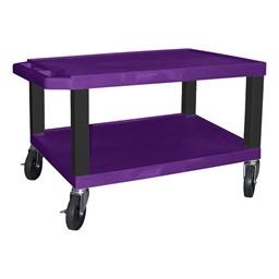 "Colorful Tuffy Utility Cart (15 1/2"" H) - Purple"