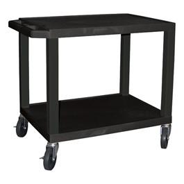 "Colorful Tuffy Utility Cart (24 1/2\"" H) - Black"