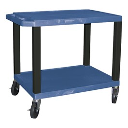 "Colorful Tuffy Utility Cart (24 1/2"" H) - Blue"