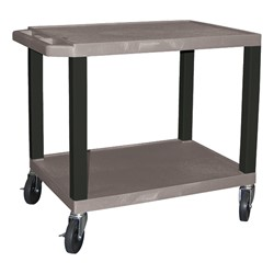 "Colorful Tuffy Utility Cart (24 1/2"" H) - Gray"