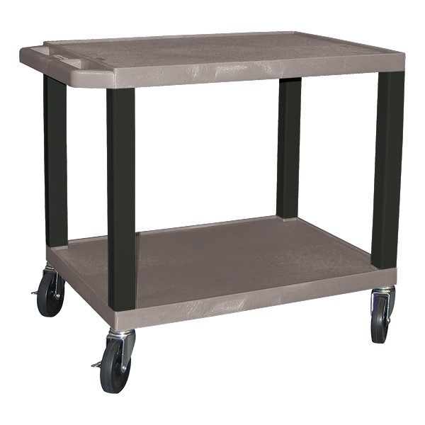 """Colorful Tuffy Utility Cart (24 1/2"""" H) - Gray"""