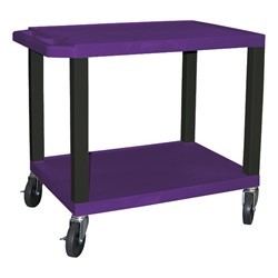 "Colorful Tuffy Utility Cart (24 1/2"" H) - Purple"