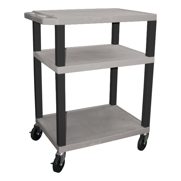"Colorful Tuffy Utility Cart (15 1/2"" H) - Gray"